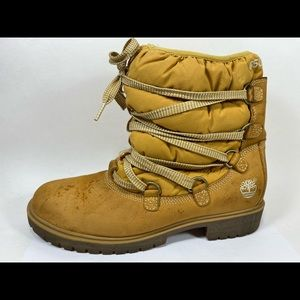 Timberland 650 Insulated Leather Boots Women's 9M